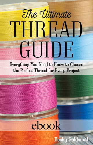 The Ultimate Thread Guide Digital Download