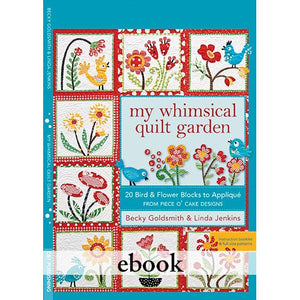 My Whimsical Quilt Garden Digital Download