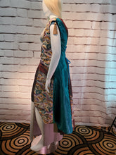 Load image into Gallery viewer, Turquoise Glow in Asian Print: Plus Size