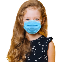 Load image into Gallery viewer, ASTM Level 3 Children's Face Masks - 50 masks per box