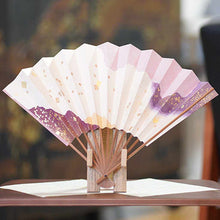 Load image into Gallery viewer, [Hand Fan] Folding Fan Tea Rack Set Cloud | Edo Folding Fans