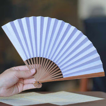 Load image into Gallery viewer, [Hand Fan] Otomochi Shark Komon Honso Bamboo | Edo Folding Fans