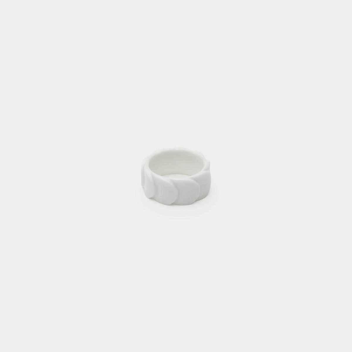 [Accessory] 2016/ Saskia Diez Drake Ring No.2 (White) | Imari-Arita Wares