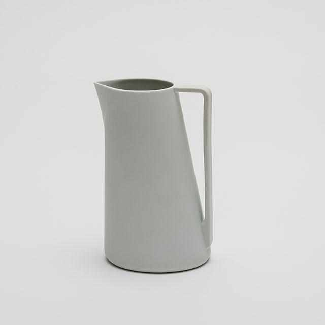 [Pitcher] 2016/ Shigeki Fujishiro Pitcher L (White) | Imari-Arita Wares