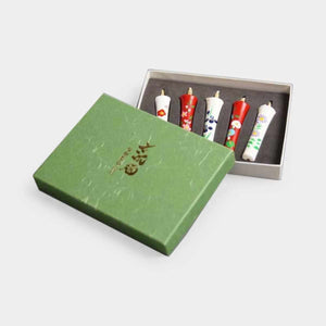 [Candle] 2 Momme 5 Book Set Kyono Gosekku | Japanese Candles
