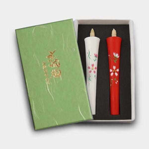 [Candle] Ikari Type 4 Momme Cherry Blossoms (B) | Japanese Candles