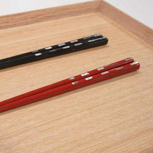 Load image into Gallery viewer, [Chopsticks] Wakasa-Nuri Chopsticks Couple Chopsticks, Shell Incense Pair | Wakasa Lacquerware