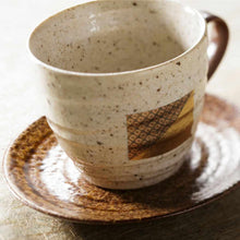 Load image into Gallery viewer, [Mug (Cup)] Coffee Cup & Saucer Set | Kanazawa Gold Leaf
