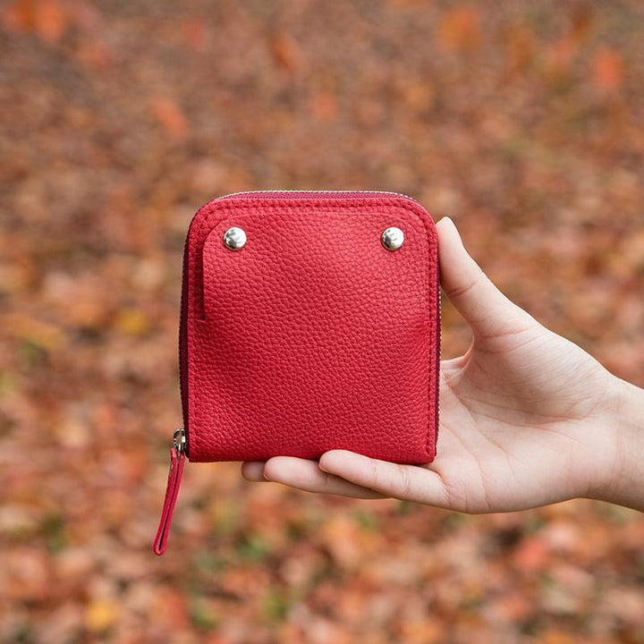 [Leather Case] SMART MOVE! Soft sweetheart-red   Leather work