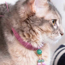 Load image into Gallery viewer, [Pet Supply] Cat Necklace For Cats (Collar) Heian | Kyoto Buddhist Beads