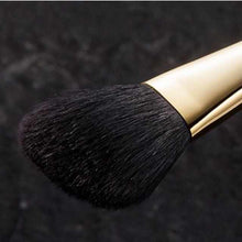 Load image into Gallery viewer, [Makeup Brush] Long Highlight Cheek Brush (Angle) 38mm | Makeup Brush