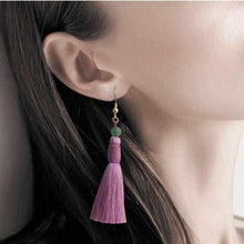 Load image into Gallery viewer, [Pet Supply] Cat Pierced Earrings Heian | Kyoto Buddhist Beads