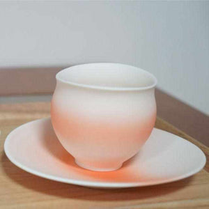[Mug (Cup)] Yuki Akari Set-Orange | Pottery and Porcelain