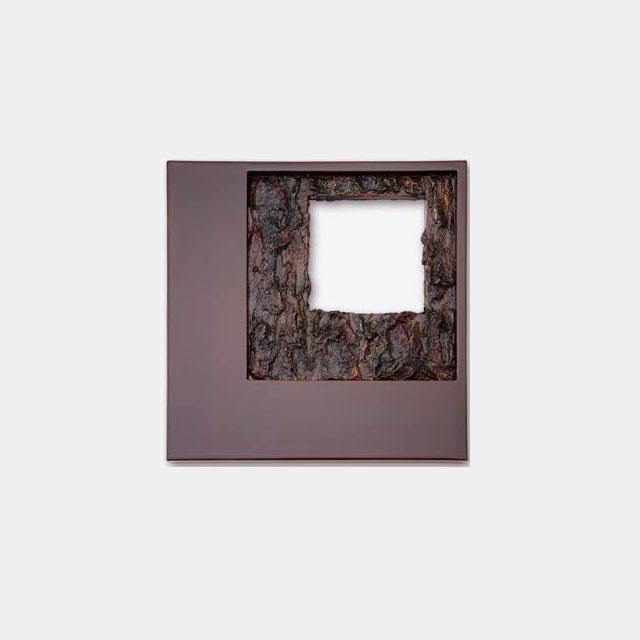 [Wall Decor (Wall Art)] Kokemusu Lacquer Screen Square Composition | Wajima Lacquerware