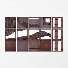 Load image into Gallery viewer, [Wall Decor (Wall Art)] Kokemusu Lacquer Screen Square Composition | Wajima Lacquerware