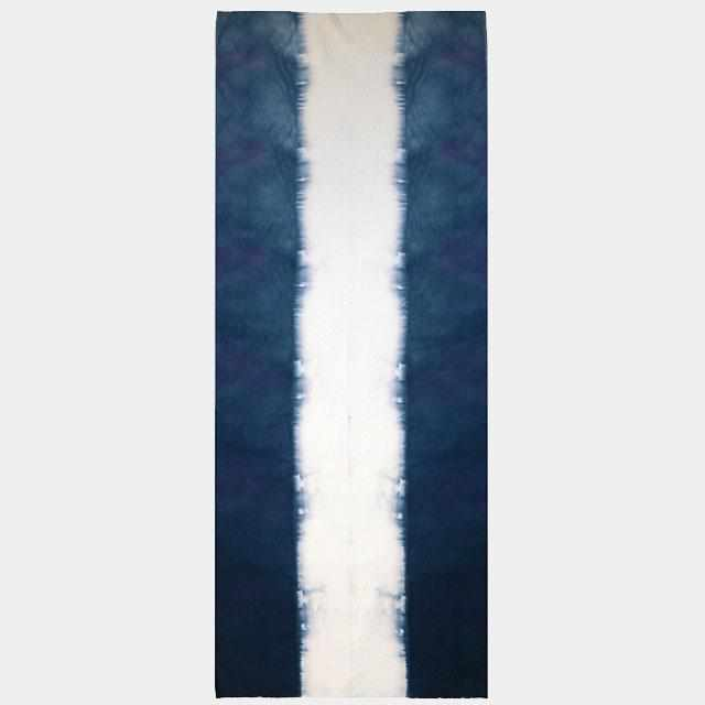[Towels] Log Squeeze Blur Dyed Towel (Deep Sea) (With Cosmetic Box) | Kyoto Kanoko Shibori