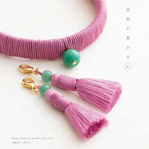 [Pet Supply] Cat Necklace For Cats (Collar) Heian | Kyoto Buddhist Beads