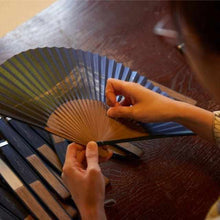 Load image into Gallery viewer, [Hand Fan] Fragrant Fan Utsushika Harumeku X Sakuraka | Kyoto Folding Fans