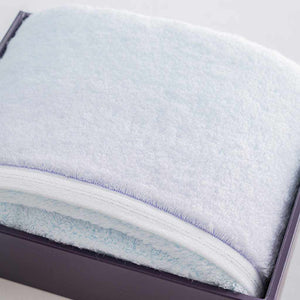 "[Towels] Sarala ""Irodori"" Bath Towel (Blue) 