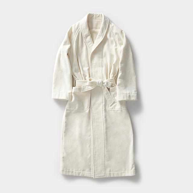 [Roomwear] Nightgown White Cashmere | Sewing