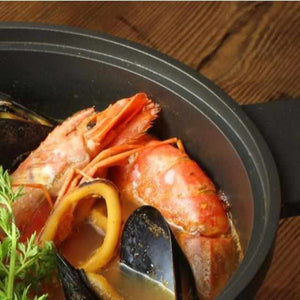 [Cooker (Pot)] Homusubi Cocotte Pot & Lid (Small) Cocotte Mai (Open Fire & IH & Oven) | Carbon Processing