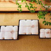 "Load image into Gallery viewer, [Towels] Sarala ""En"" Bath Towel X 2 & Face Towel X 2 (4 Piece Set) 