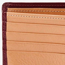 Load image into Gallery viewer, [Wallet / Bag] Satori Bi-Fold Wallet (No Coins) (Grape) | Leather work