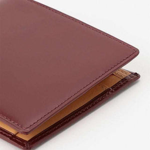 [Wallet / Bag] Satori Bi-Fold Wallet (With Coins) (Grape) | Leather work