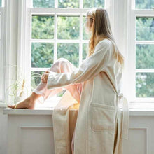 Load image into Gallery viewer, [Roomwear] Nightgown White Cashmere | Sewing