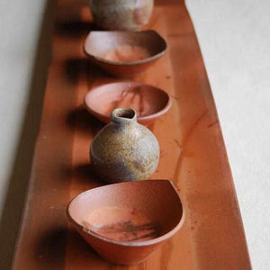 [Large Plate (Platter)]  Plate Plate (Small) | Bizen Wares