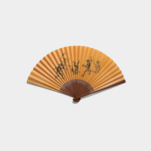 [Hand Fan] Man'S Drawing Picture Book Soot Bamboo 270 | Edo Folding Fans