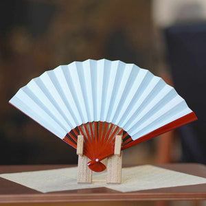 [Hand Fan] Woman'S Polka Dot Lacquer | Edo Folding Fans