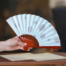 Load image into Gallery viewer, [Hand Fan] Woman'S Polka Dot Lacquer | Edo Folding Fans