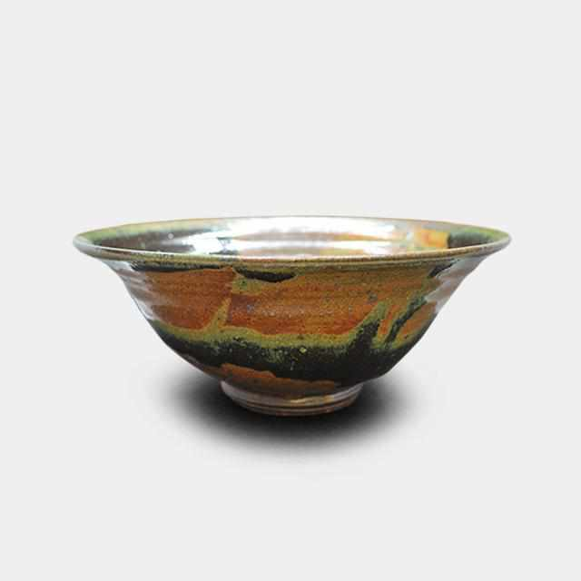 [Bowl] Oribe Pot | Pottery and Porcelain