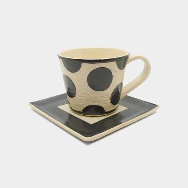 [Mug (Cup)] Coffee Cup & Saucer A | Pottery and Porcelain