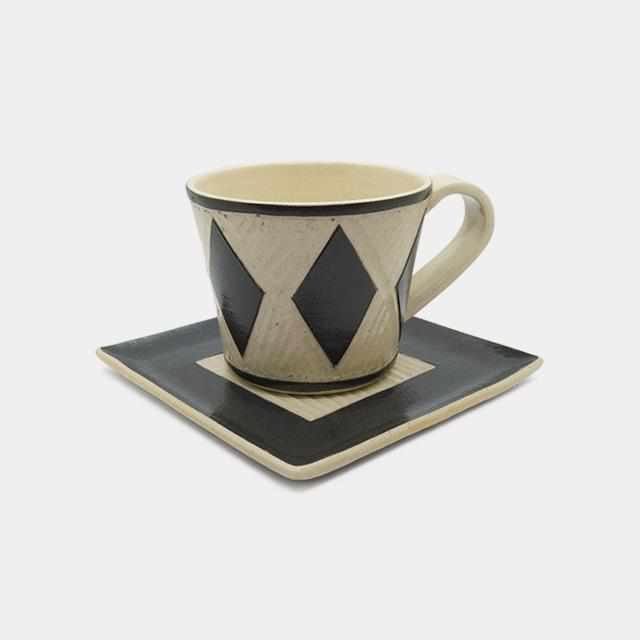 [Mug (Cup)] Coffee Cup & Saucer F | Pottery and Porcelain