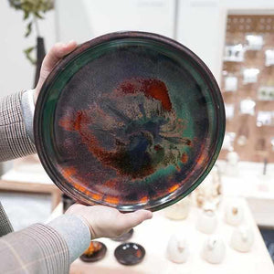 [Large Plate (Platter)] Plate Size | Tokoname Ware