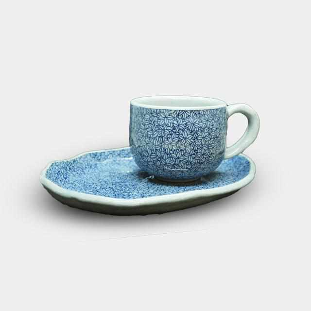 [Mug (Cup)] Leaf Coffee Cup | Pottery and Porcelain