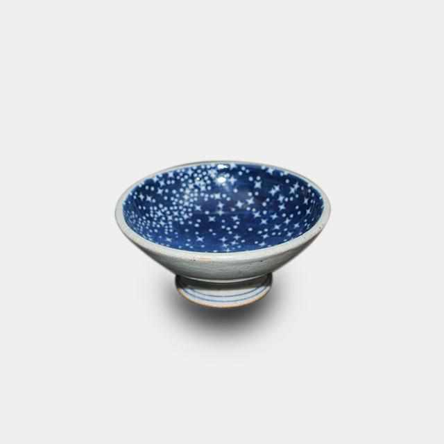 [Sake Cup] Star Shower Guinomi | Pottery and Porcelain