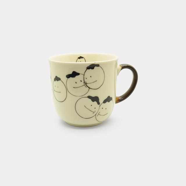 [Mug (Cup)] Rina-Chan Series Mug D | Pottery and Porcelain
