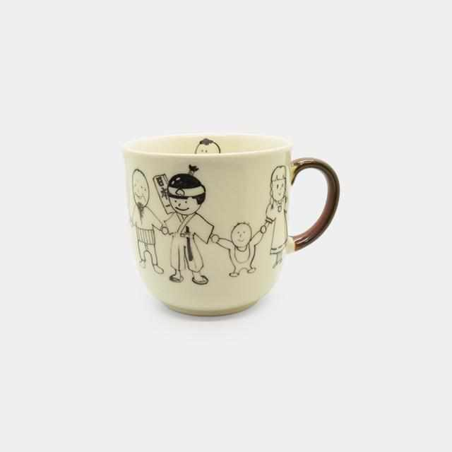 [Mug (Cup)] Rina-Chan Series Mug E | Pottery and Porcelain