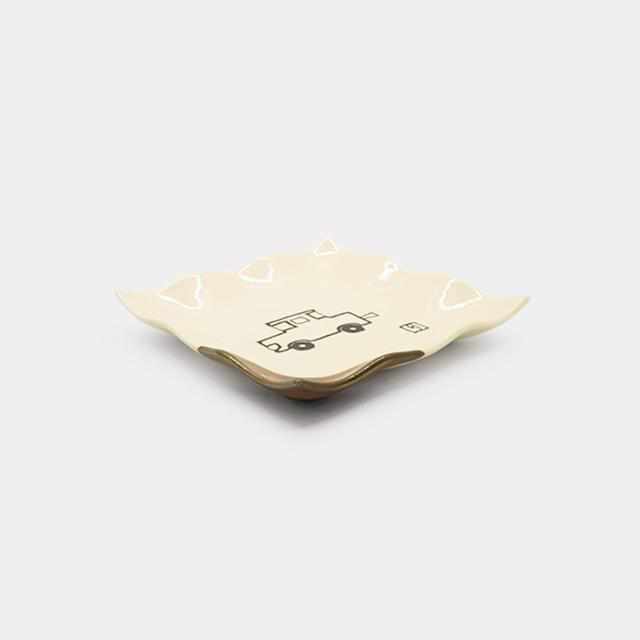 [Small Dish (Plate)] Rina-Chan Series Small Plate A | Pottery and Porcelain