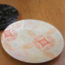 Load image into Gallery viewer, [Large Plate (Platter)] Plate (Hana Cloisonne) White | Nishijin Textiles