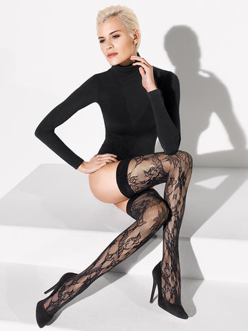 Wolford Evelyn Stay-Ups - Je Te Veux