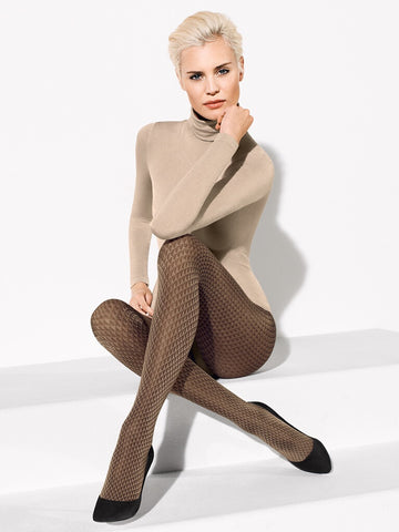 Wolford Brit Tights - Je Te Veux