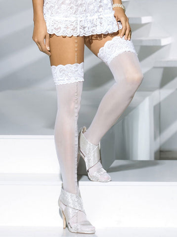 Obsessive Heartdrops Stockings - Je Te Veux
