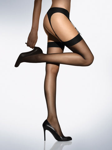 Wolford Individual 10 Stockings - Je Te Veux