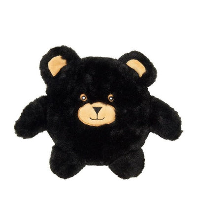 Small Wheat Bag Black Teddy Bear