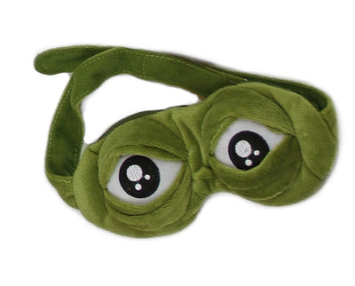 Frog Eyes Sleeping Mask 3D, movable eyelids