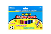 Mini Colouring Pencils 24pk